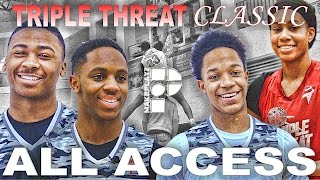 Triple threat classic all access episode! chris lykes & more!
