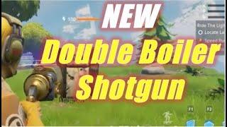 New Double Boiler Shotgun / Fortnite