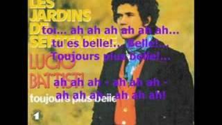 Lucio Battisti TOUJOURS PLUS BELLE (1973) - Comunque Bella