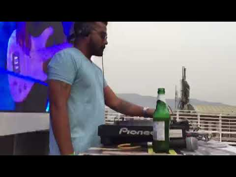 DJ REBIRTH AT SUNDAY SUNDOWNER POOL PARTY @ LUTF LOUNGE NAVI MUMBAI
