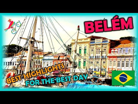 BELÉM Brazil Travel Guide. Free Self-Guided Tours (Highlights, Attractions, Events)