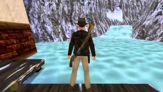 Indiana Jones and the Infernal Machine PC Longplay 3 - Tian Shan River