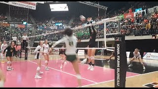 Dyersville Beckman Blazers advance to volleyball finals