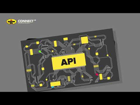 Kroon-Oil CONNECT API | Be Connected!