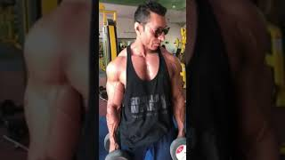 Biceps💪 workout by mr.india waseem.