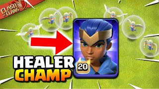 AMAZING! Royal Champion into LavaLoon Attack - Town Hall 13 Strategy (Clash of Clans)