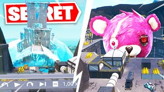 A ROBOT WILL FIGHT THE MONSTER OF POLAR PEAK.. (SECRET FORTNITE SAISON 9)