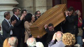 Des personnalités et des anonymes aux obsèques de Jean Rochefort