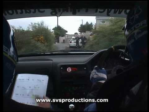 Donegal International Rally 2006 - Andrew Browne & Keefe Kilcoyne - Stage 1