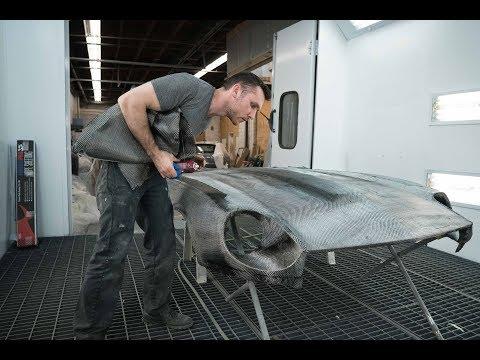 Making A Carbon Fiber Hood For The 240z Datsun (EP #9   Part 1) (4K)