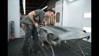 Making A Carbon Fiber Hood For The 240z Datsun (EP #9 | Part 1) (4K)