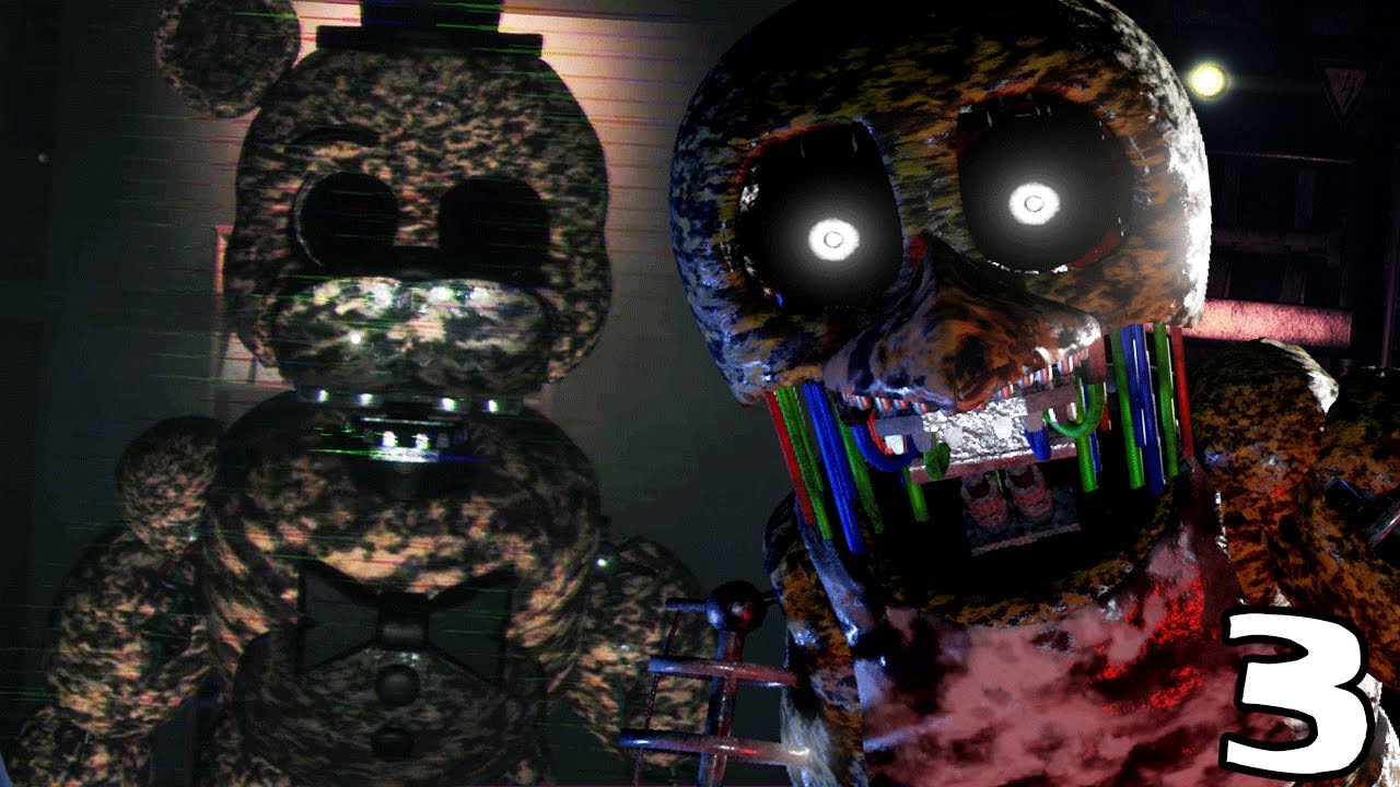 ignited golden freddy attacks the joy of creation story mode