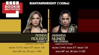 Bookie Beatdown - UFC 207: Amanda Nunes vs. Ronda Rousey