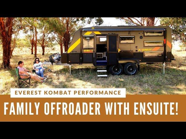 EVEREST CARAVANS KOMBAT PERFORMANCE! Family offroad caravan