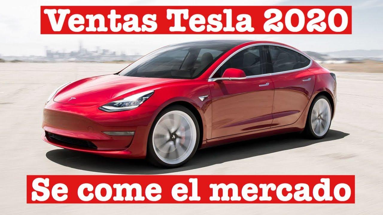 Las ventas de Tesla se disparan: análisis mercado vehículos eléctricos