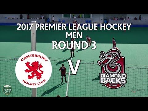 Canterbury v Diamondbacks   Men Round 3   Premier League Hockey 2017