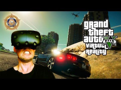 Grand Theft Auto V: Virtual Reality (HTC Vive)