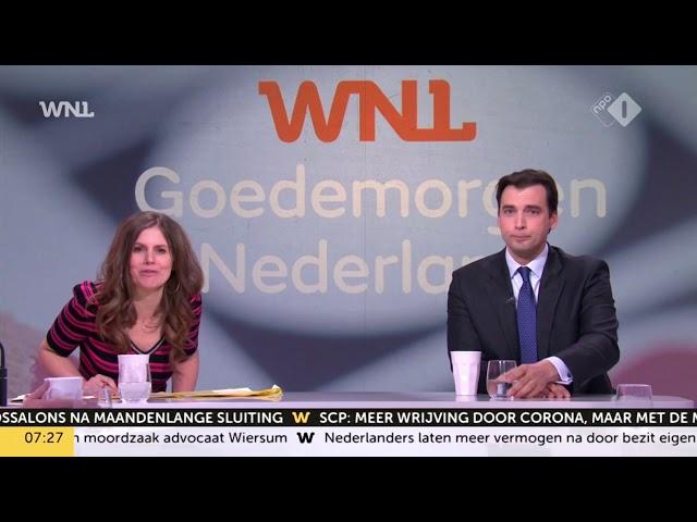Thierry Baudet kondigt Fake News (NOS) Journaal aan
