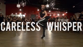 "YANIS MARSHALL HEELS CHOREOGRAPHY ""CARELESS WHISPER"" GEORGE MICHAEL. MILLENNIUM LOS ANGELES"