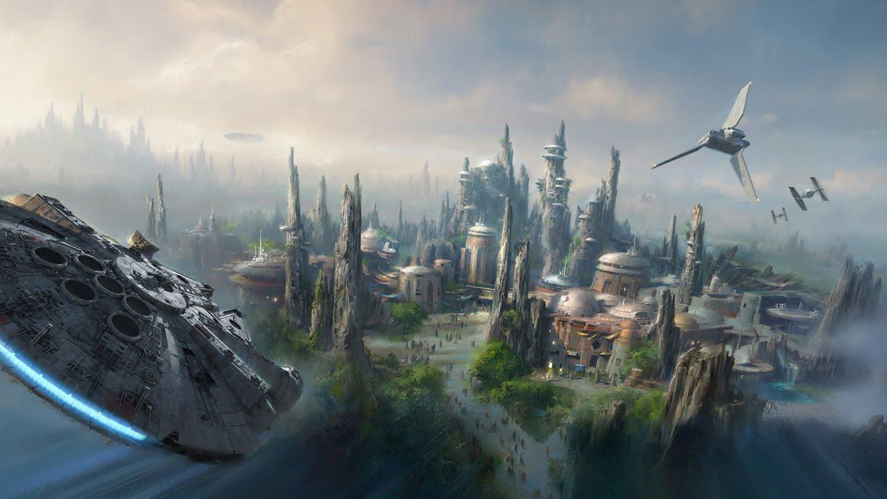 Primo sguardo a Star Wars Land