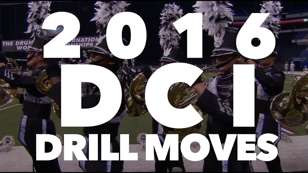 Awesome Drill Moments from 2016 DCI Finalists