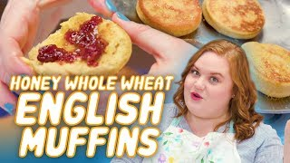How to Make Honey Whole Wheat English Muffins | Smart Cookie | Allrecipes.com