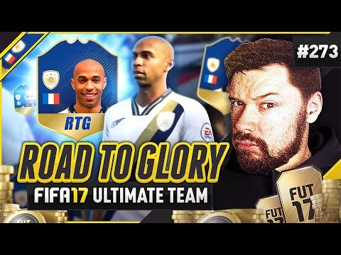 THIERRY HENRY ICON RTG! - #FIFA17 Road to Glory! #273 Ultimate Team