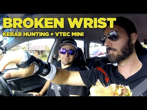 Broken Wrist + Kebab Hunting in Super Gramps