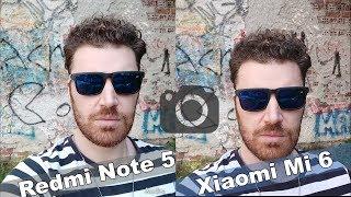 Xiaomi Redmi Note 5 vs Xiaomi Mi 6   Συγκριτικό Κάμερας!
