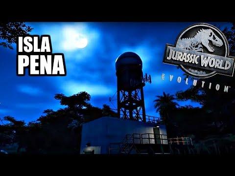 ISLA PENA   HARDEST ISLAND? (Jurassic World Evolution)
