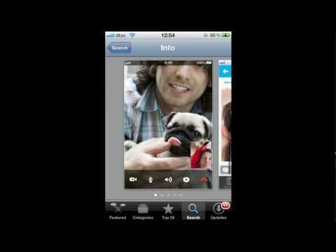 วิธีติดตั้ง Skype บนมือถือ iPhone iPad