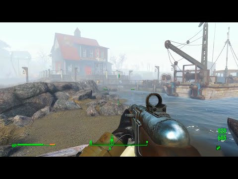 Fallout 4 Gameplay/Commentary [Part 57] - The Fishy Friendly-Fire Detective!