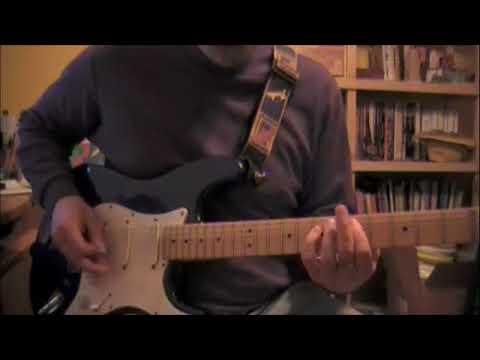 Train In Vain guitar lesson