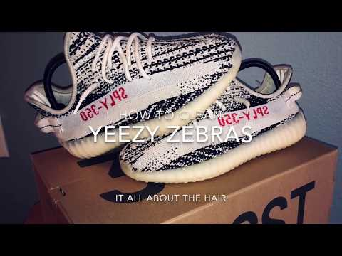 How to clean Yeezy Zebras 🦓 V2