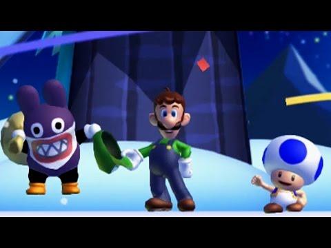 New Super Luigi U -  World 4 - Frosted Glacier (Multiplayer)