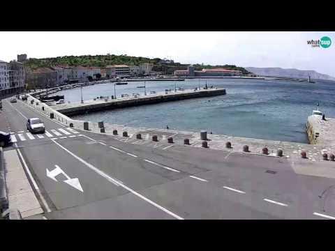 Senj Web Kamera Uživo Bura 2342107 Youtube