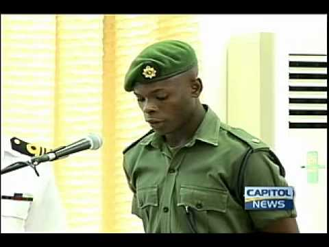 New army officers gets equipment.mp4