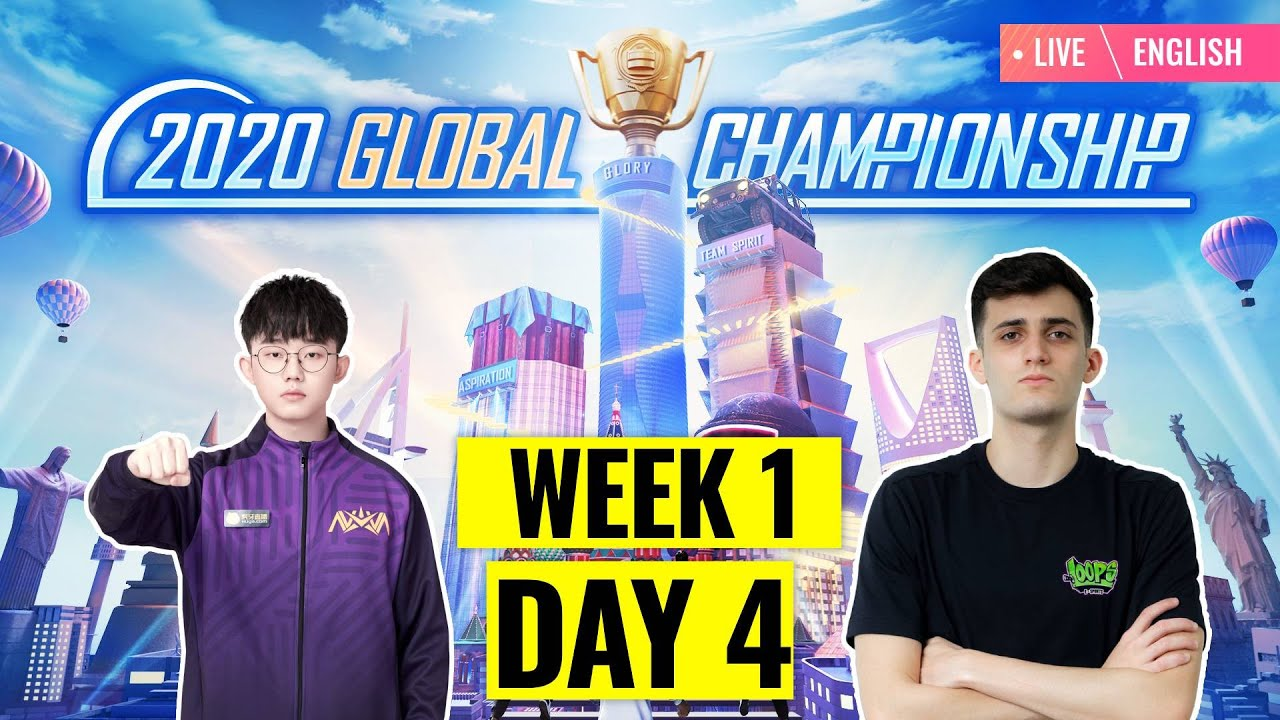 [EN] PMGC 2020 League W1D4 | Qualcomm | PUBG MOBILE Global Championship | Week 1 Day 4