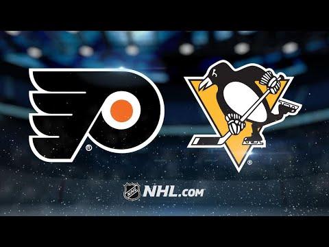Rust scores OT winner as Pens beat Flyers, 5-4