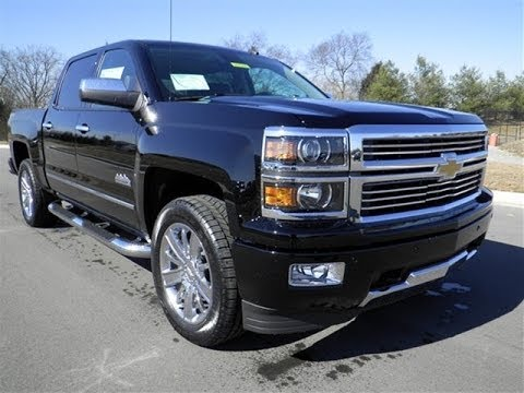 sold 2014 chevrolet high country silverado crew cab 4x4 black 53 895 msrp for sale. Black Bedroom Furniture Sets. Home Design Ideas