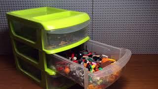 Обзор моих Лего Кейсов с Аксессуарами / My Lego Case with Accessory