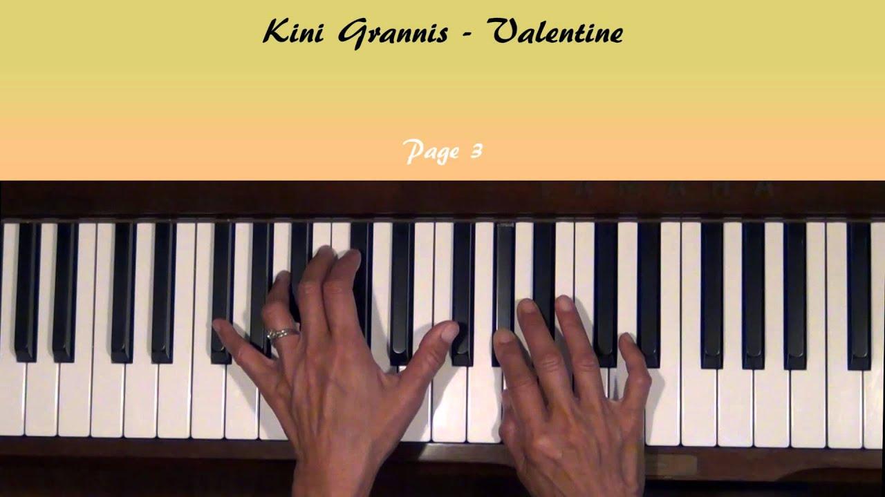 Valentine by kina grannis piano tutorial slow youtube valentine by kina grannis piano tutorial slow hexwebz Images