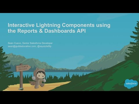 Interactive Lightning Components Using the Reports & Dashboards API (2)