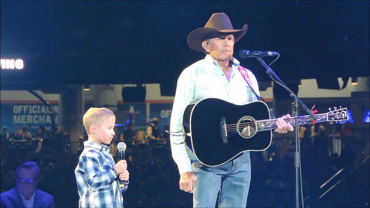 George Strait Gives Moving Performance Of 'God and Country Music' at 2019 ACM Awards