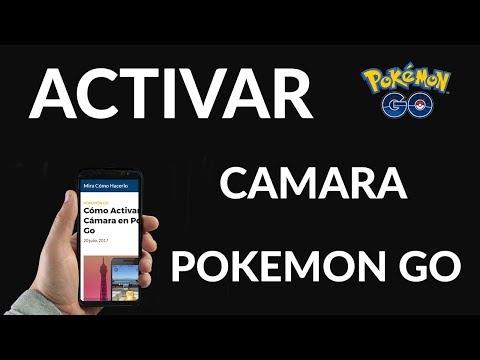Cómo Activar la Cámara en Pokémon Go
