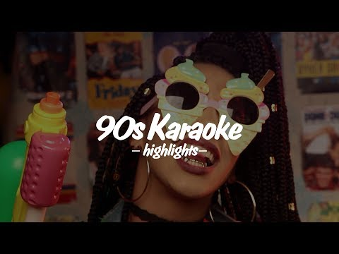 90s KARAOKE HIGHLIGHTS: Apr 28th 2017 pt.02