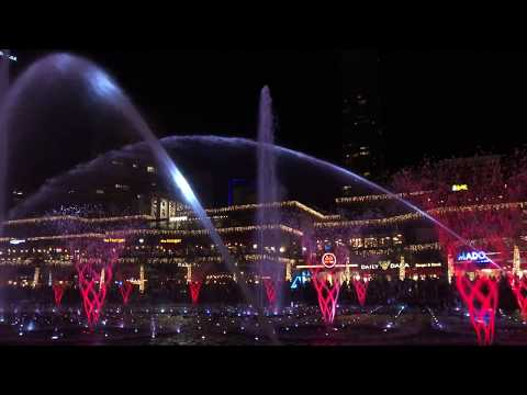 Water Show in Watergarden Mall, İstanbul (pt1)