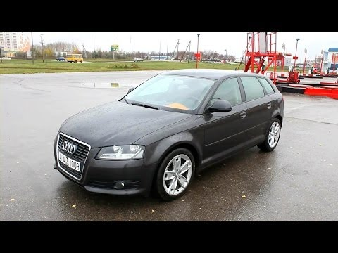 2009 Audi A3 Sportback (8P). Start Up, Engine, and In Depth Tour.