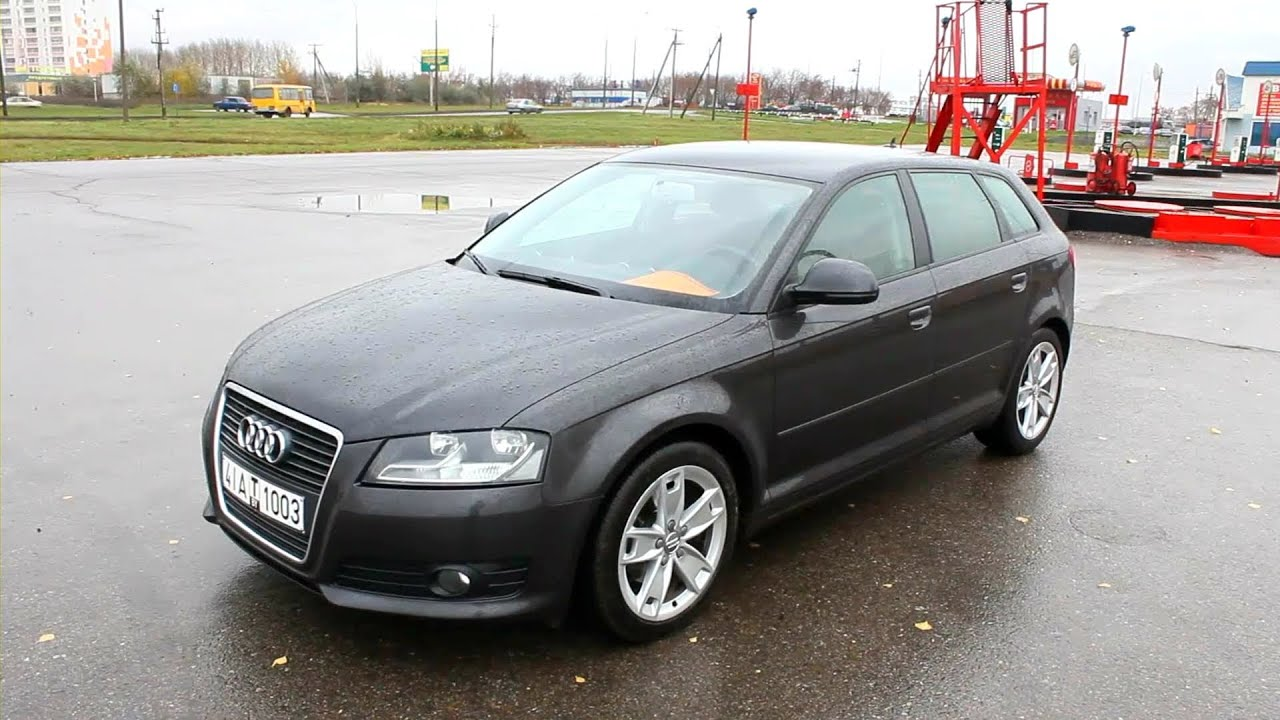 2009 Audi A3 Sportback (8P). Start Up, Engine, And In