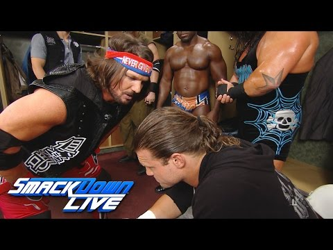 Thumbnail: Dolph Ziggler attacks a loudmouth AJ Styles backstage: SmackDown Live, Aug. 23, 2016